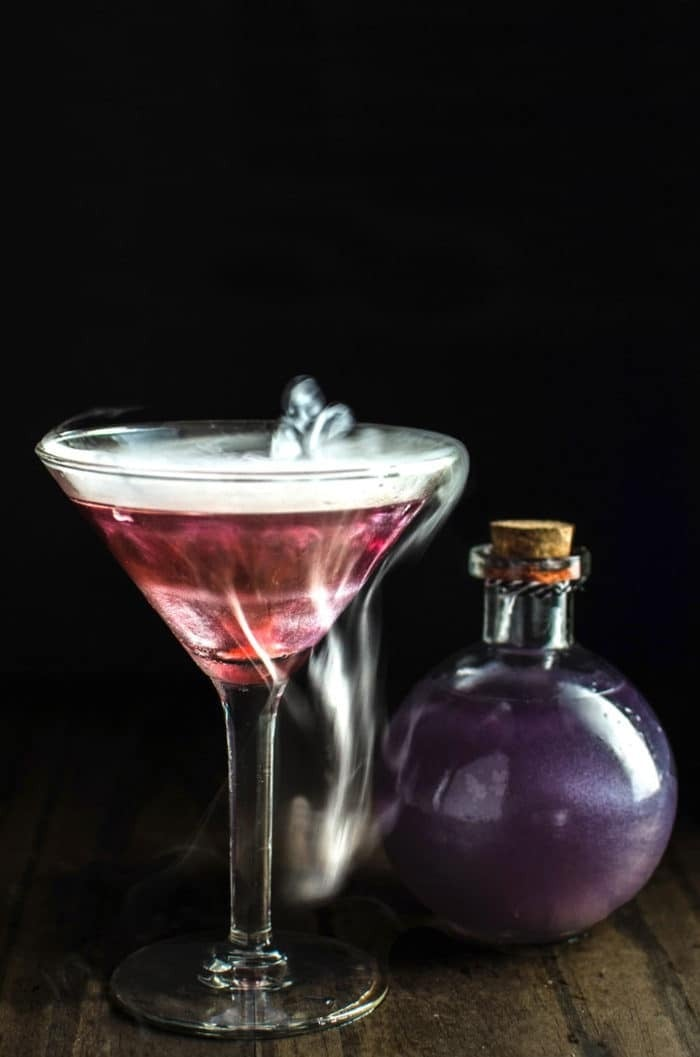 Witches Heart Halloween Cocktail