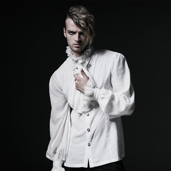 Add a touch of Gothic Edge to Your Outfit: Pick a Gothic Shirt for Formal Events