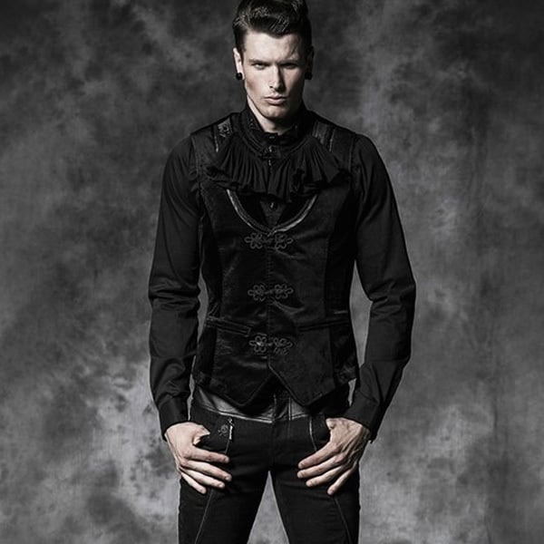 Add a Gothic edge to formal outfits with a Gothic Vest
