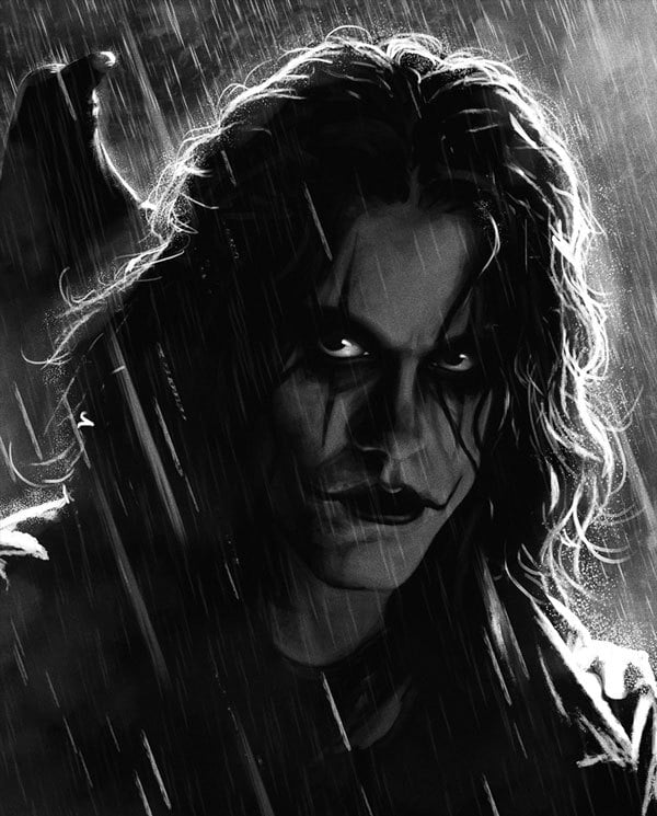 Gothic Pop culture Icons:  Eric Draven - The Crow