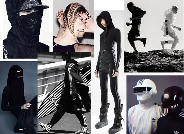 Health Goth Fashion: Futuristic, Gothic, Activewear