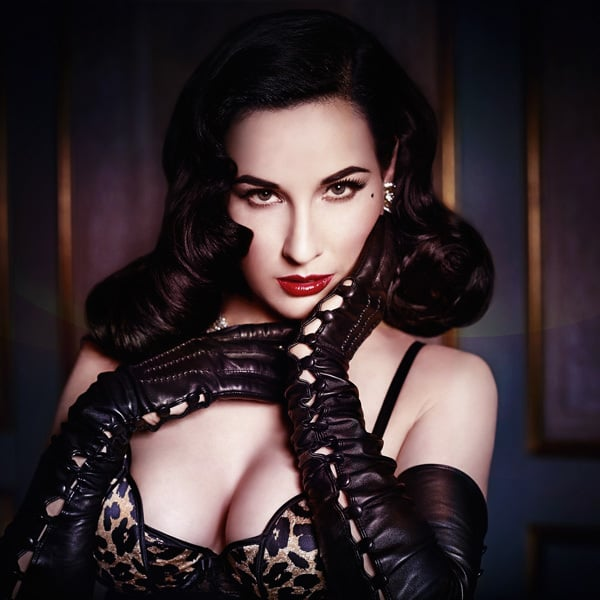 NSFW burlesque fashion guide: Dita Von Teese