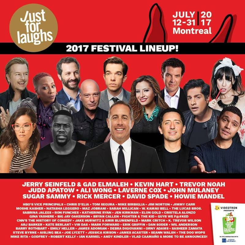 Just for laughs: 2018 Festivals You Don't Wanna Miss