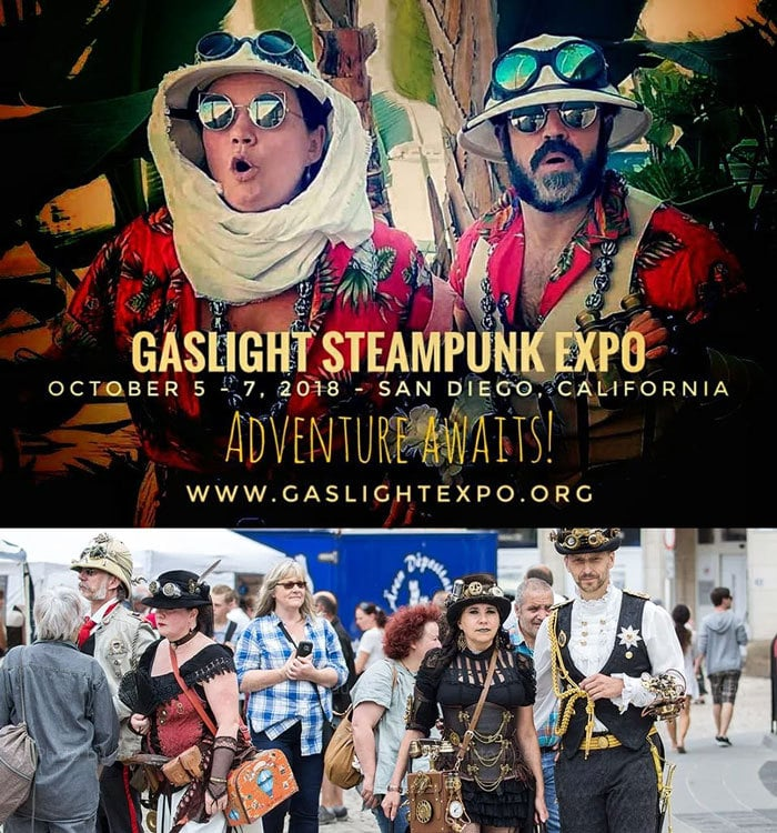 Gaslight Steampunk Expo in San Diego, CA