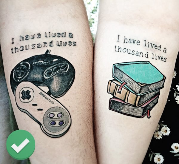 Tattoos to Consider: A Shared Interest Tattoo