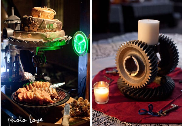 Awesome Favors For Your Steampunk Themed Wedding: Steampunk Treats