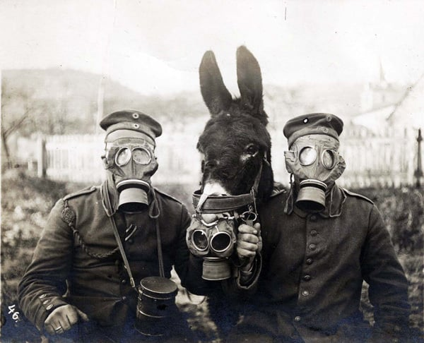 History of gas masks - now a steampunk fashion staple