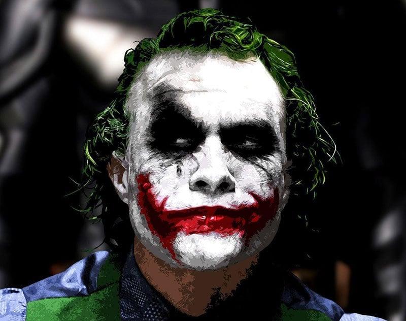 The Creepiest Clowns the World Has Ever Seen: the joker heath ledger