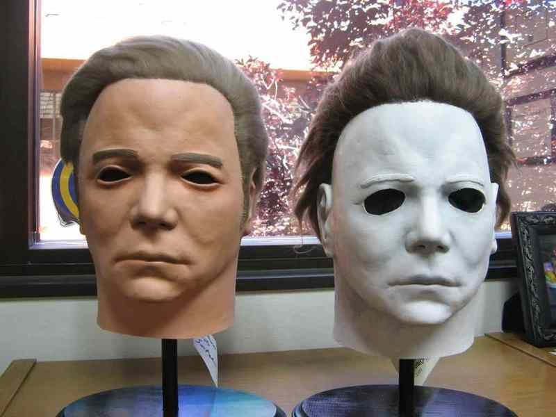 Scary Movie Effects That Are Surprisingly Silly: Michael Myers Shatner mask