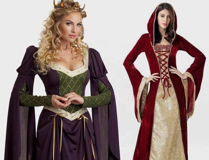 Medieval Corset Costumes