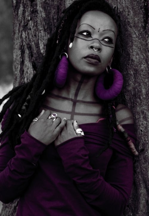 afro goth subculture