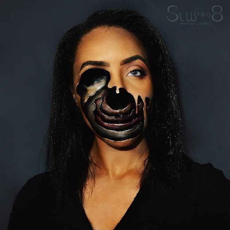 Gothic facepaint