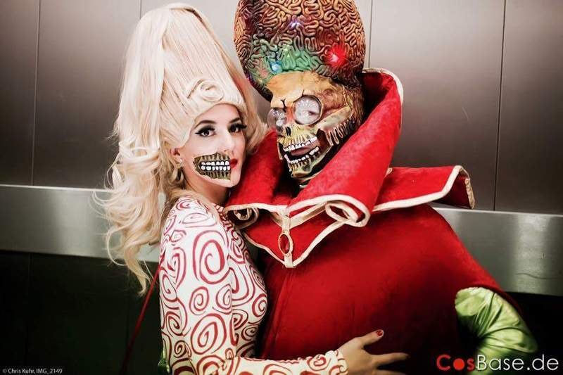 MArs attacks couples costume