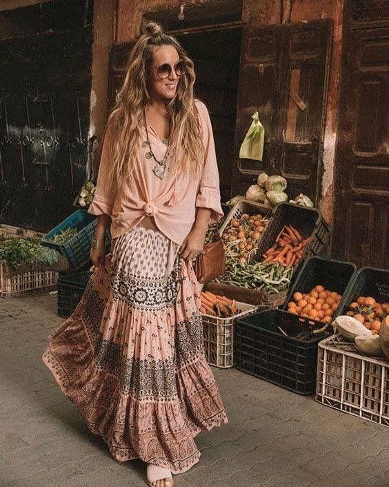 a short history of Boho fashion