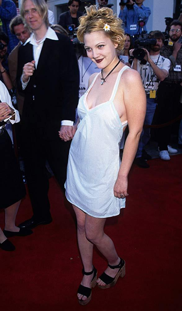 Drew Barrymore at Batman Forever Premiere 1995