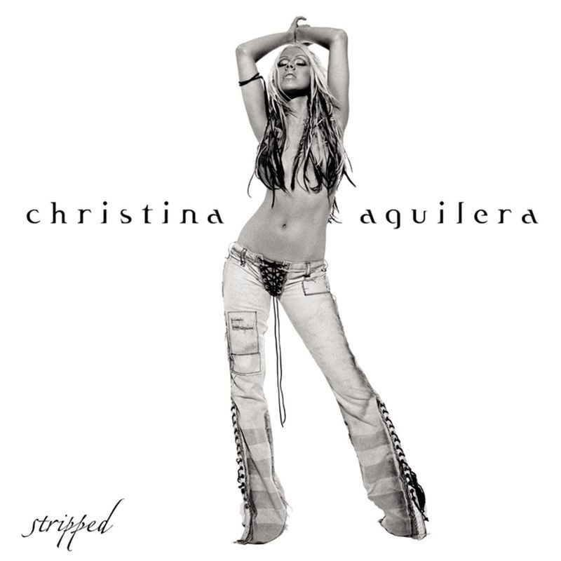 Christina Aguilera Stripped album cover