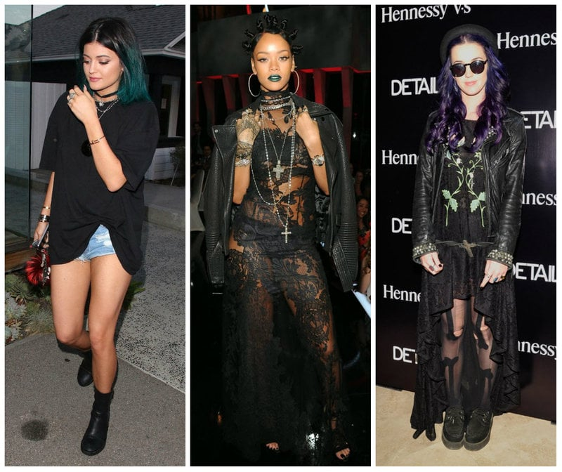 street goth female celebrities