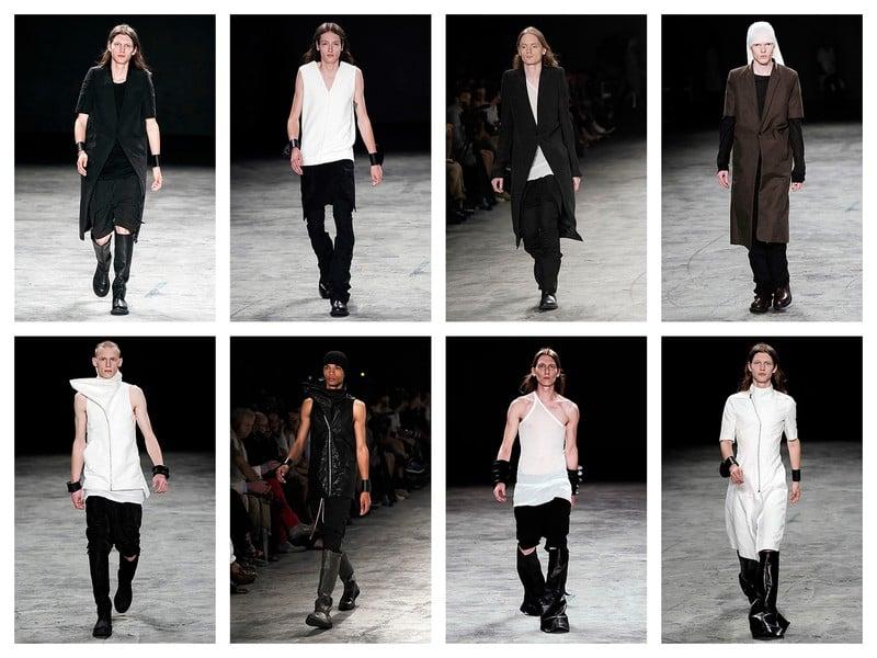 Rick Owens Street Goth Fashion