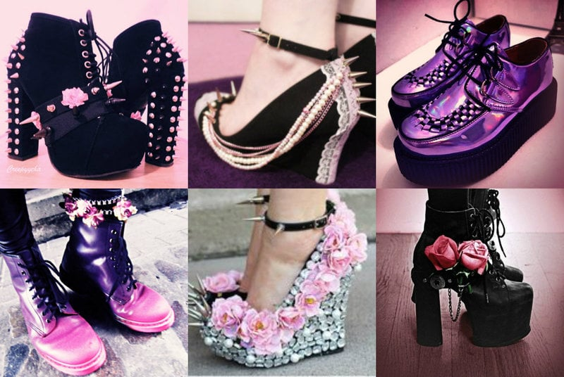 Goth Pastel Shoes