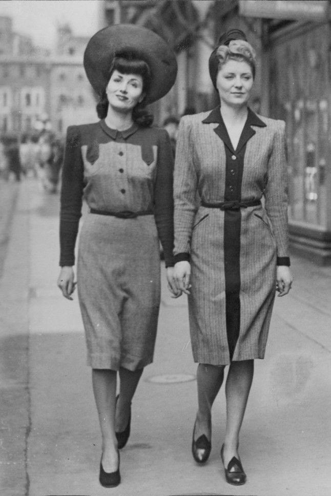 All about 40s Fashion: retro photo