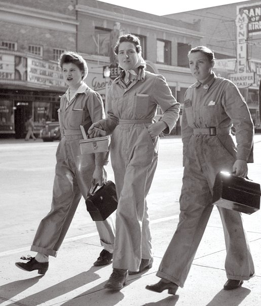 All about 40s Fashion: work overalls