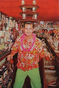 All about 40s Fashion: hawaiian shirt