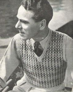All about 40s Fashion: mens sweater