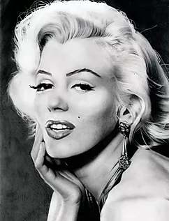 Marilyn 50s style icon