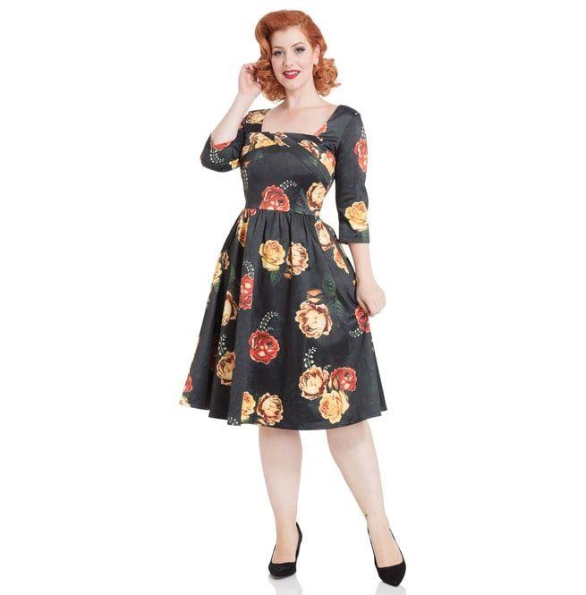 1950s modern dress