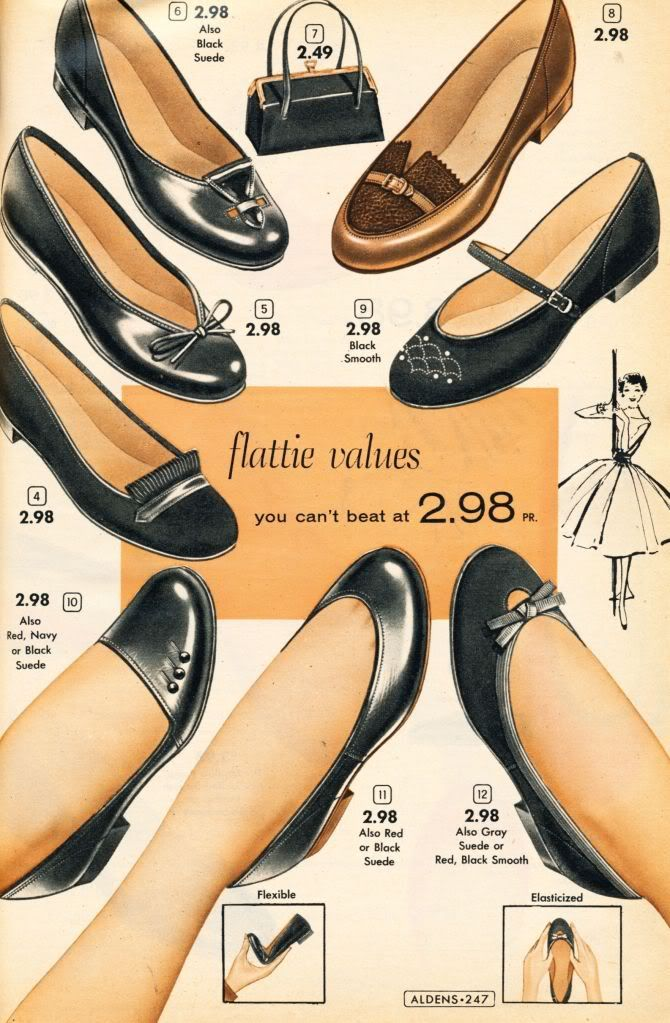 womens 50s shoes