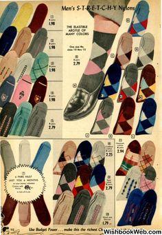 50s socks for men