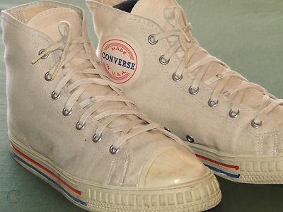50s fashion: retro sneakers