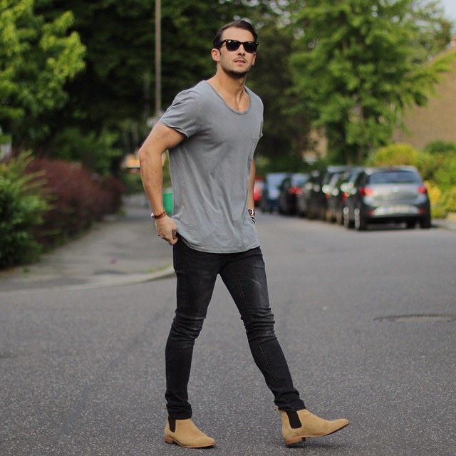 How to Style Skinny Jeans with Boots for Men