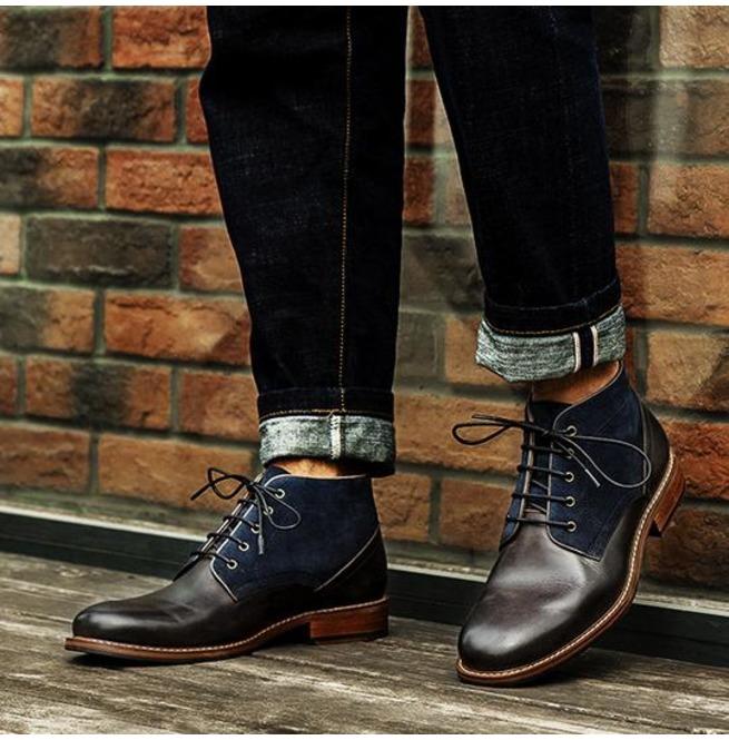 mens chukka dress boots