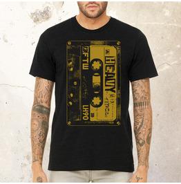 Heavy Metal Cassette T Shirt   80's Vintage Rock   Rock T Shirt  