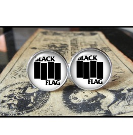 Black Flag Cuff Links Men,Wedding,Groomsmen,Groom.Gifts