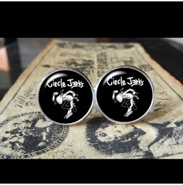 Circle Jerks Cuff Links Men,Wedding,Groomsmen,Groom