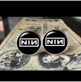 Nine Inch Nails Logo Cuff Links Men,Wedding,Groomsmen