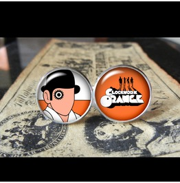 Clockwork Orange Cuff Links Men,Wedding,Groomsmen