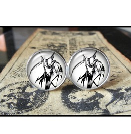 Tribal Reaper Cuff Links Men,Wedding,Groomsmen,Grooms