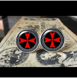 Templar Cross Cuff Links Men,Wedding,Groomsmen,Grooms