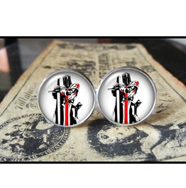 Templar Knight Cuff Links Men,Wedding,Groomsmen,Grooms