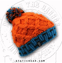 Xtatic Knitted Winter Beanie Orange