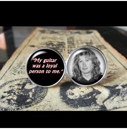 Dave Mustaine Quote Cuff Links Men,Wedding,Groomsmen
