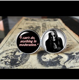 Ozzy Osbourne Quote Cuff Links Men,Wedding,Groomsmen