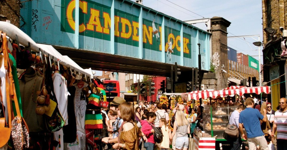 A Glance At the Mighty Camden Market: Rebel Places