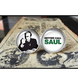 Better Call Saul Cuff Links Men,Wedding,Groomsmen,Gift