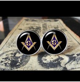 Freemason/Stonemason Cuff Links Men,Wedding,Groomsmen