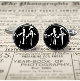 Pulp Fiction Jules/Vincent #2 Cuff Links Men,Wedding