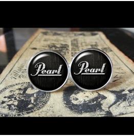 Pearl Drums Logo Cuff Links Men,Wedding,Groomsmen,Groom